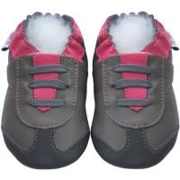 Athletic Grey Fuchisa